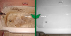 Commercial Bathtub refinishing in San Diego