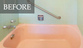 Bathtub Refinishing San Diego Before ...