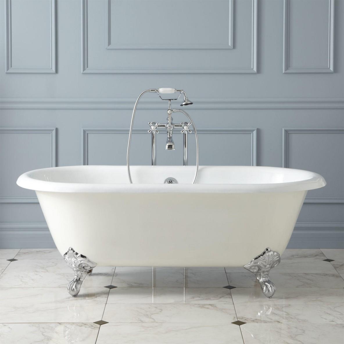 Clawfoot Bathtub refinishing & restoration in San Diego