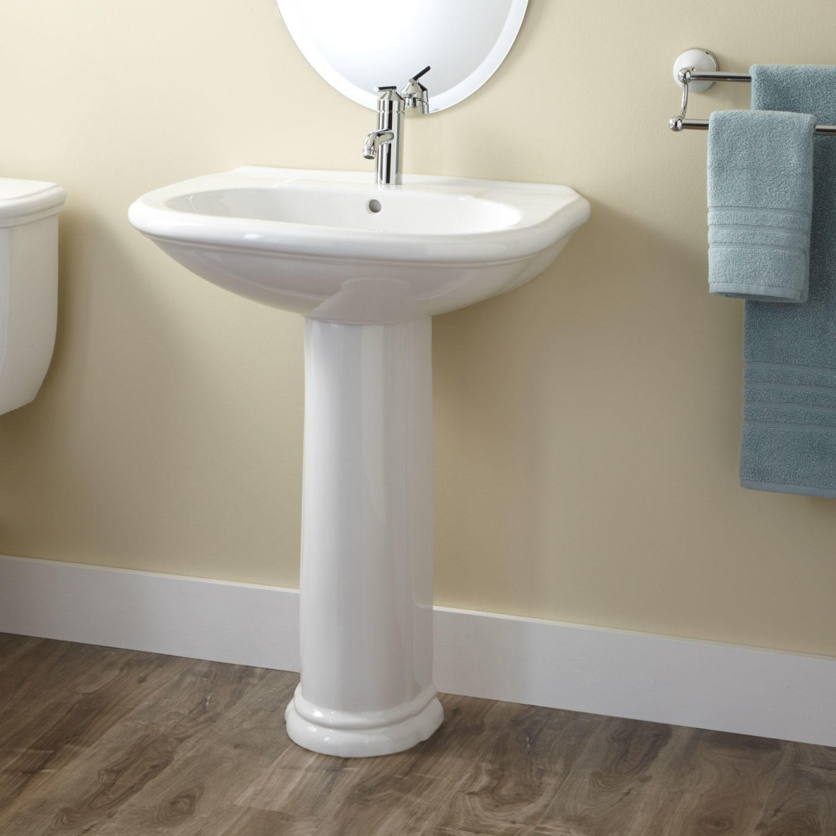 Pedestal Sink Refinishing - San Diego